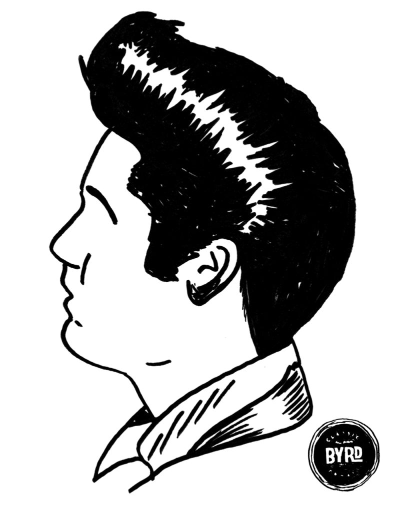 800x1017 Greaser Drawing Pompadour For Free Download