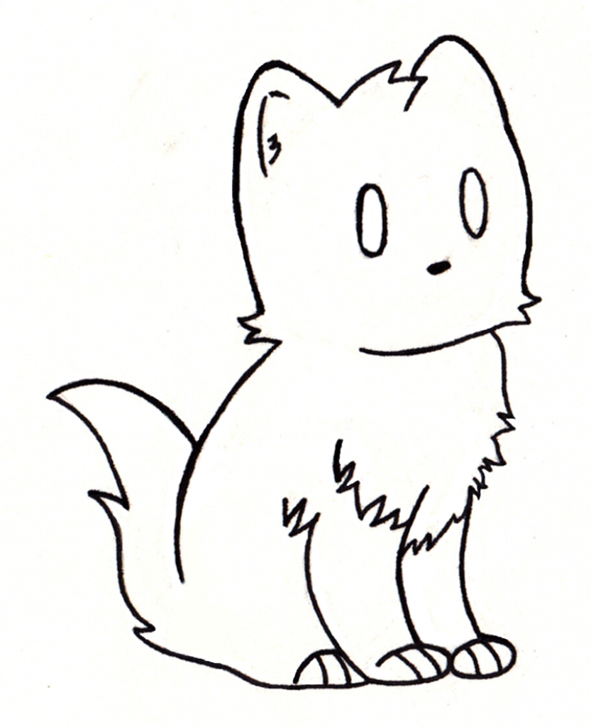 833x1024 Shark Drawing Cat For Free Download