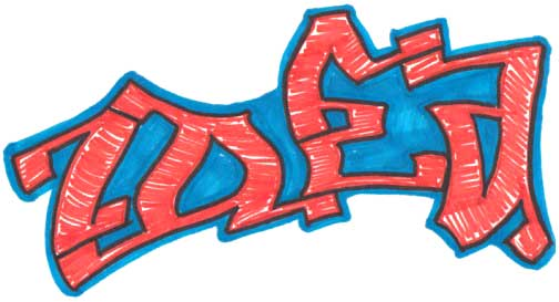504x273 Graffiti Art Evolution From Drawing To Painting To Vector Moving