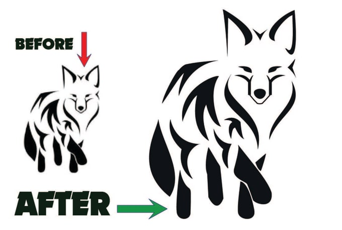 680x457 Vectorize, Redraw Logo, Convert Drawing To Vector Within
