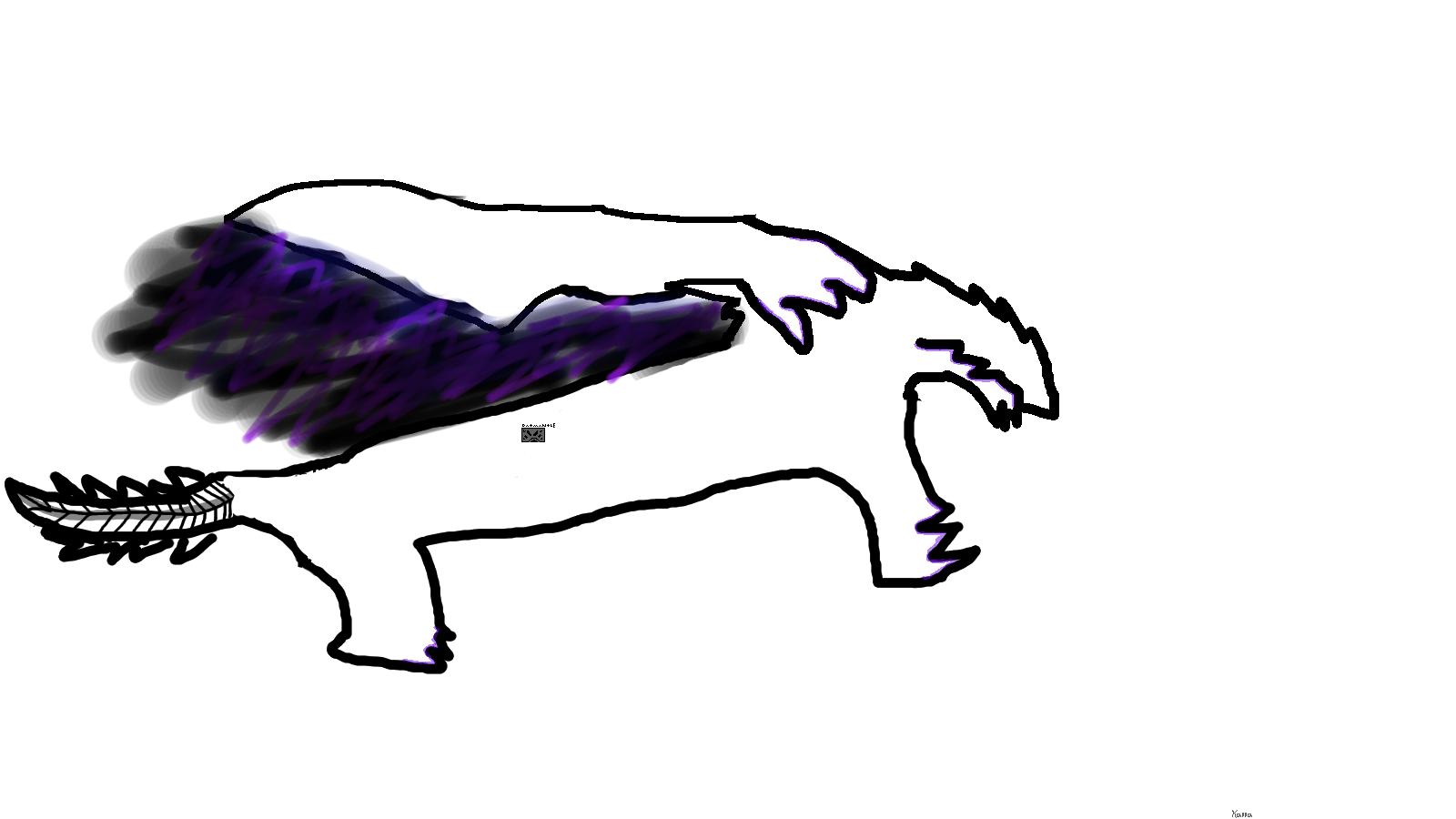 1600x900 Fluff Today I Tried To Draw Gore Magala Monsterhunter