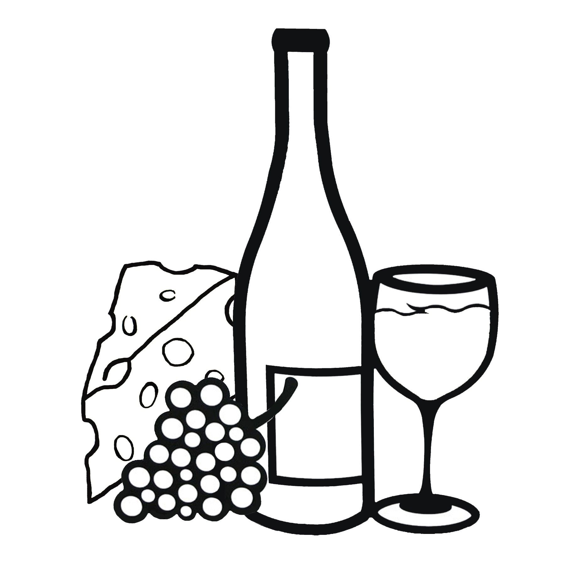 1800x1800 images for gt wine glass and grapes clipart clip art wine glass
