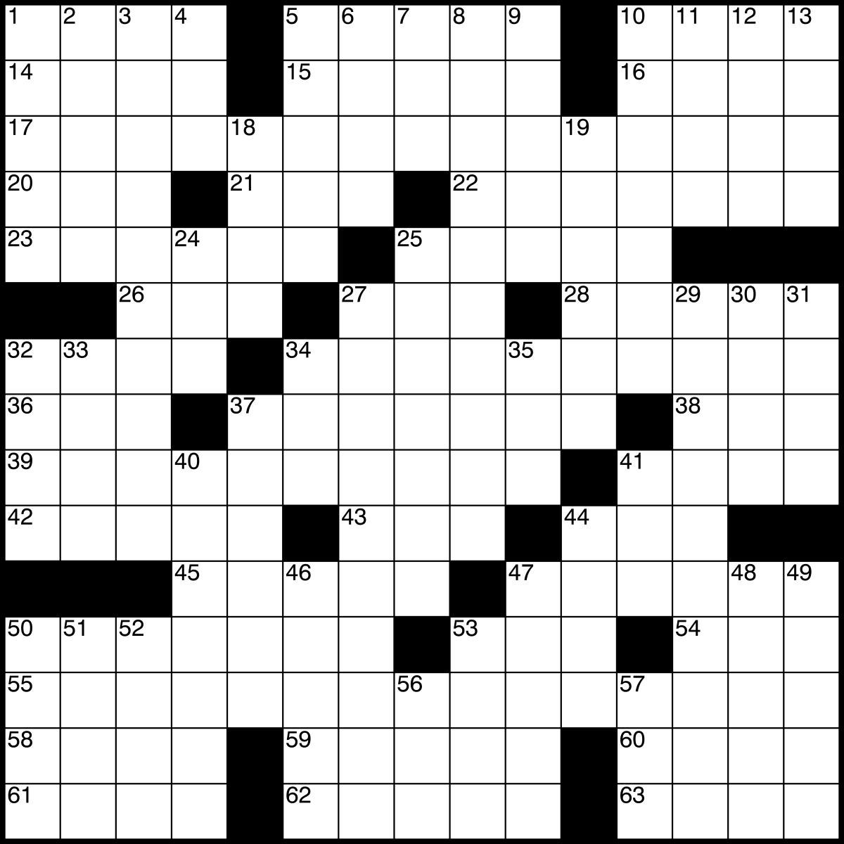 1200x1200 Crossword