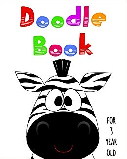 260x325 doodle book for year old blank doodle draw sketch book dartan