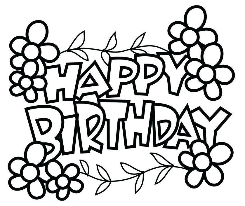 839x706 happy birthday drawing happy birthday drawing ideas birthday