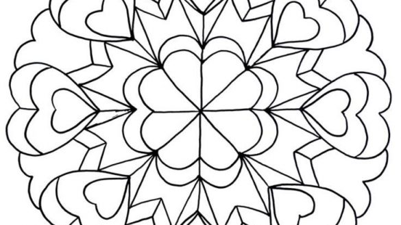 585x329 Cool Coloring Pages For Tweens Gorgeous Drawing Teenagers