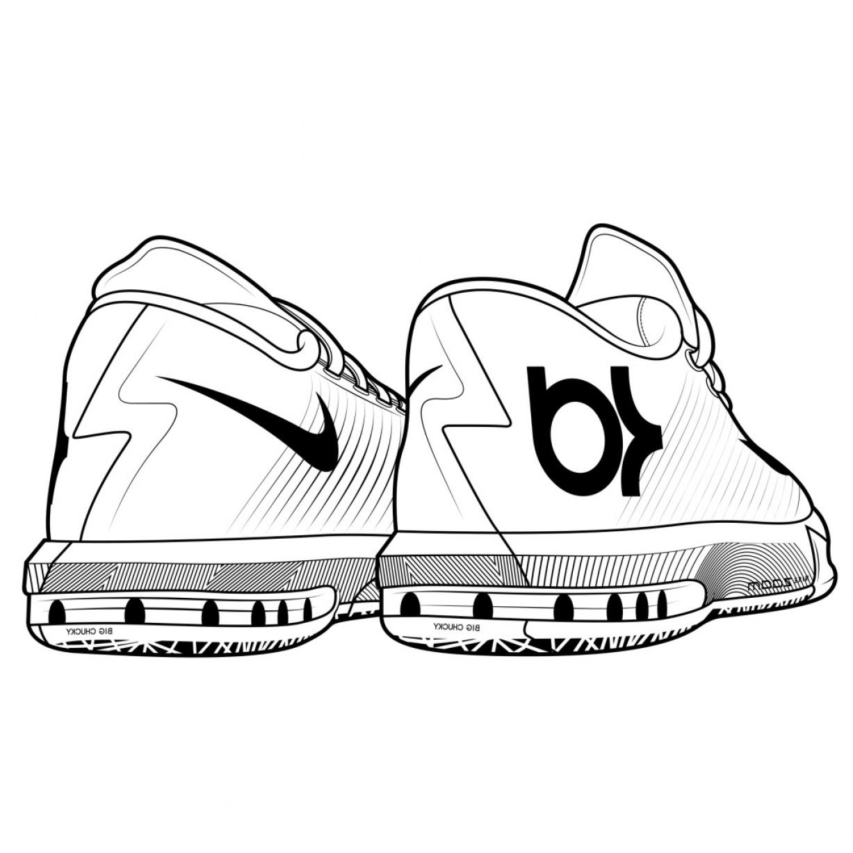 1227x1227 Kd Shoes Coloring Pages Html