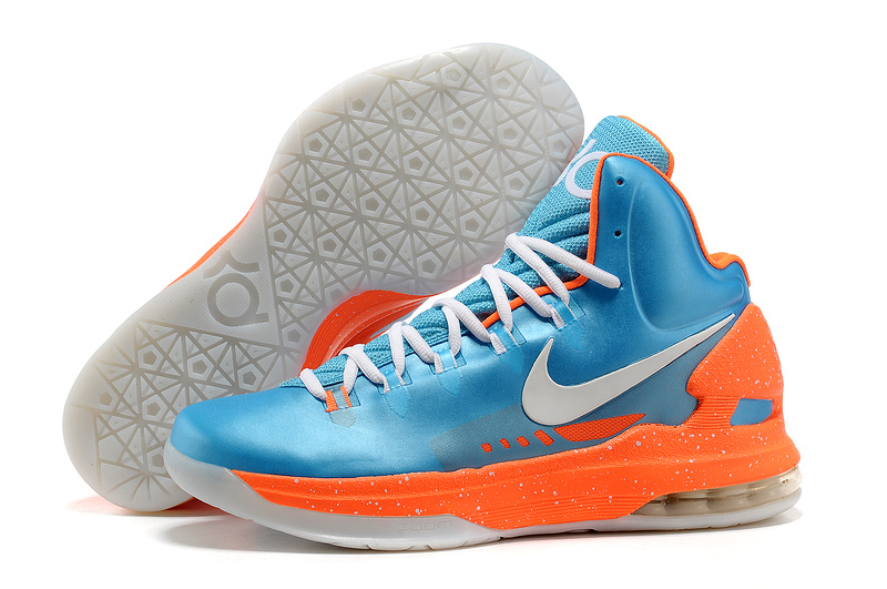 800x531 Neutral Nike Kd Shoes Blue Orange White
