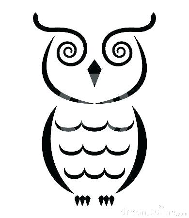 390x450 owl drawing outline owl outline drawing owl outline drawing