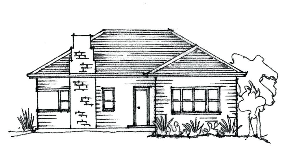 1024x547 house drawing easy house drawing easy large size of house drawing