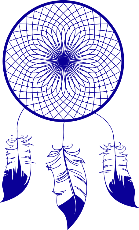 Dreamcatcher Drawing Black And White