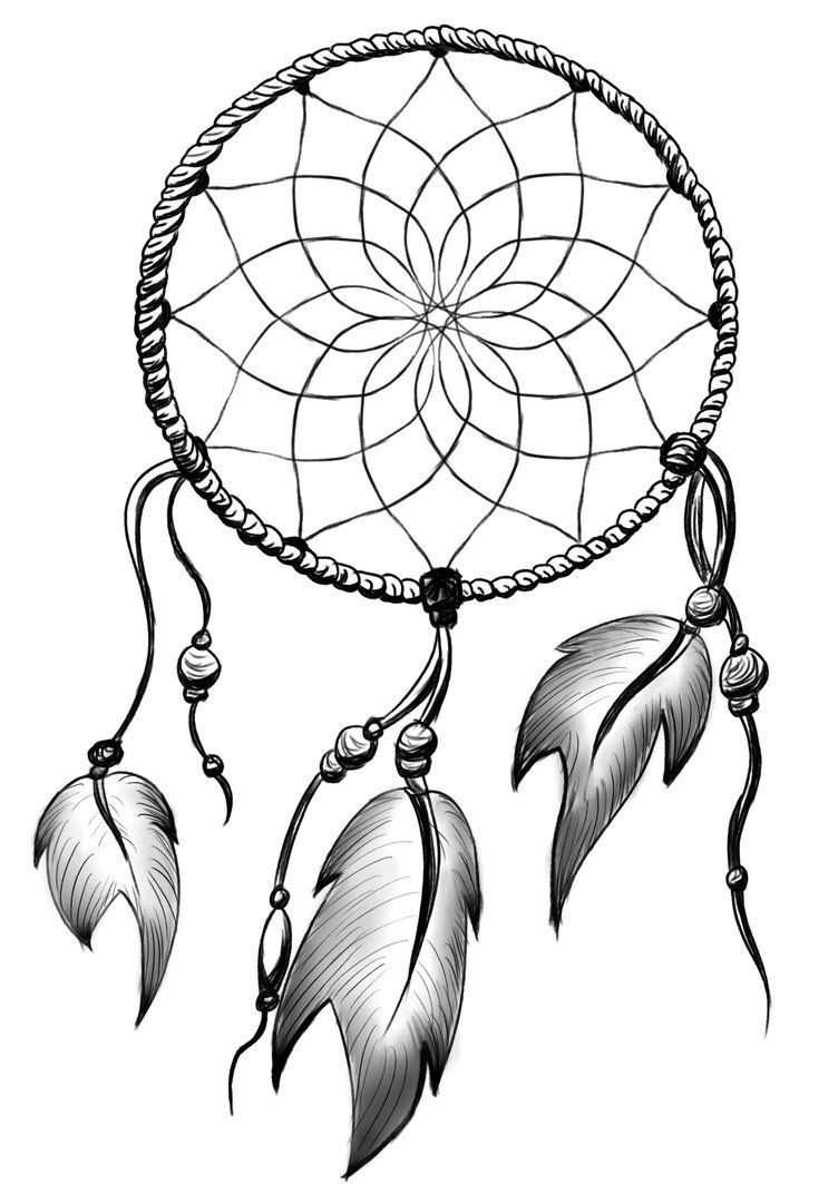 Dreamcatcher Drawing Designs
