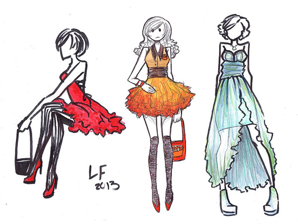 600x452 Best Fashion Design Sketches For Your Inspiration Free