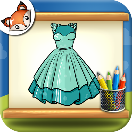 512x512 How To Draw Dresses Step