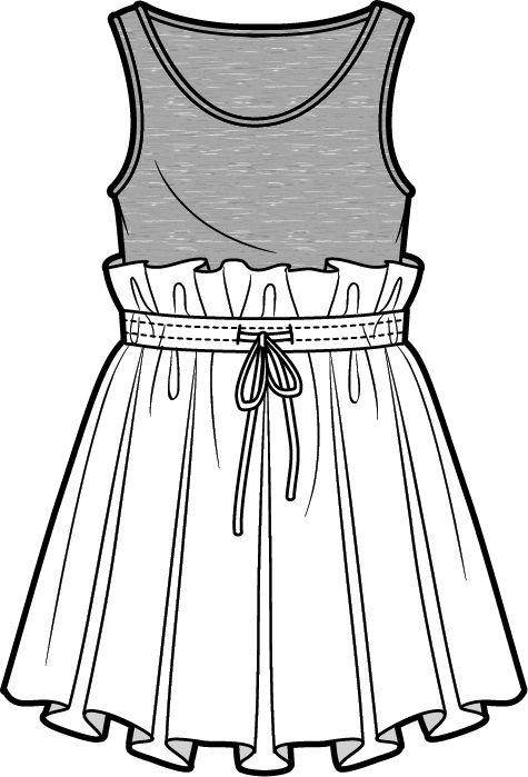 475x699 Flat Sketch Fashion Sketches, Fashion