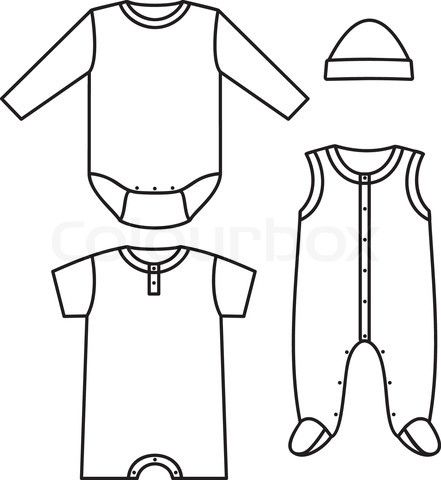 441x480 Vector Of 'fashion, Template, Kids' Miniature