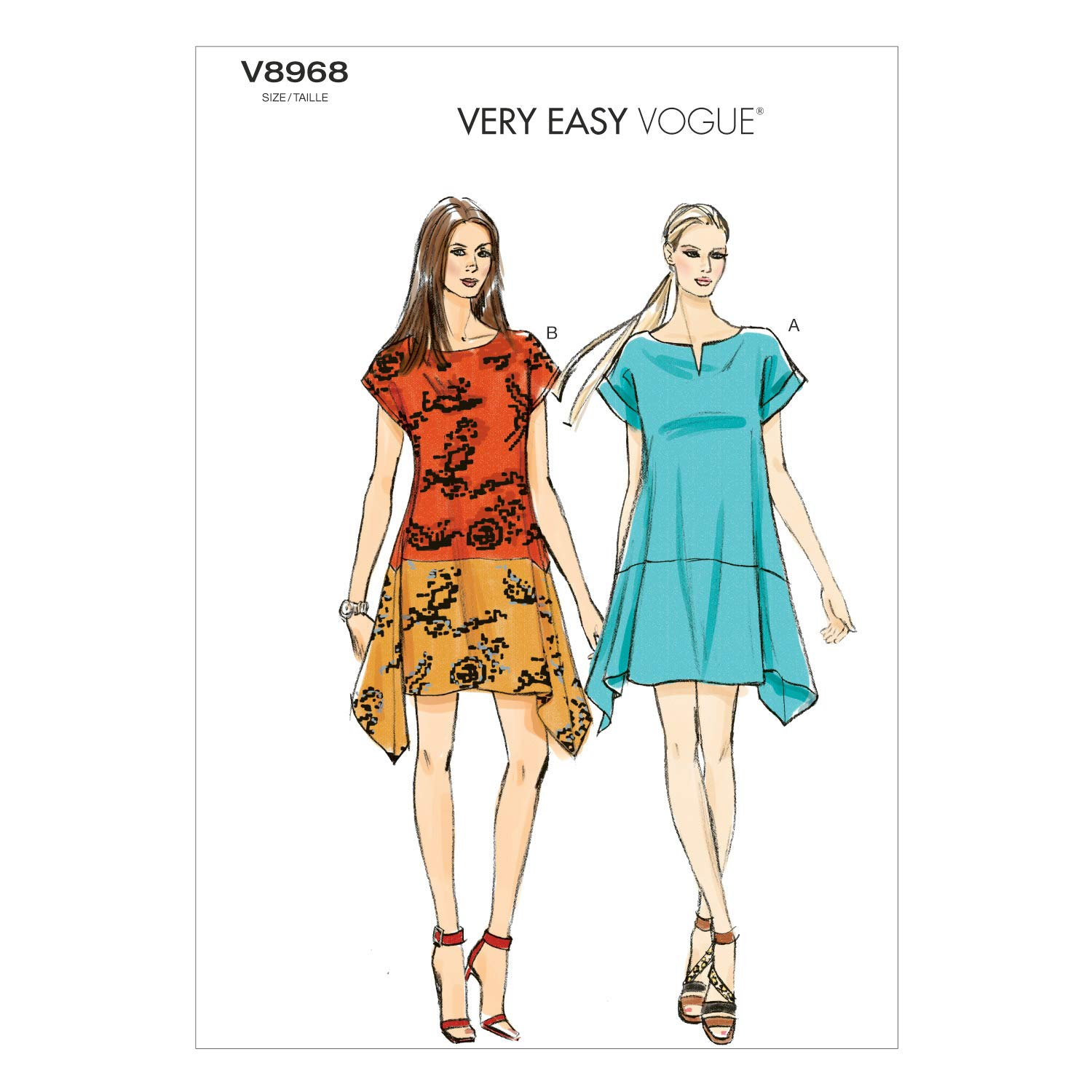 1500x1500 Vogue Patterns Misses' Dress Sewing Template