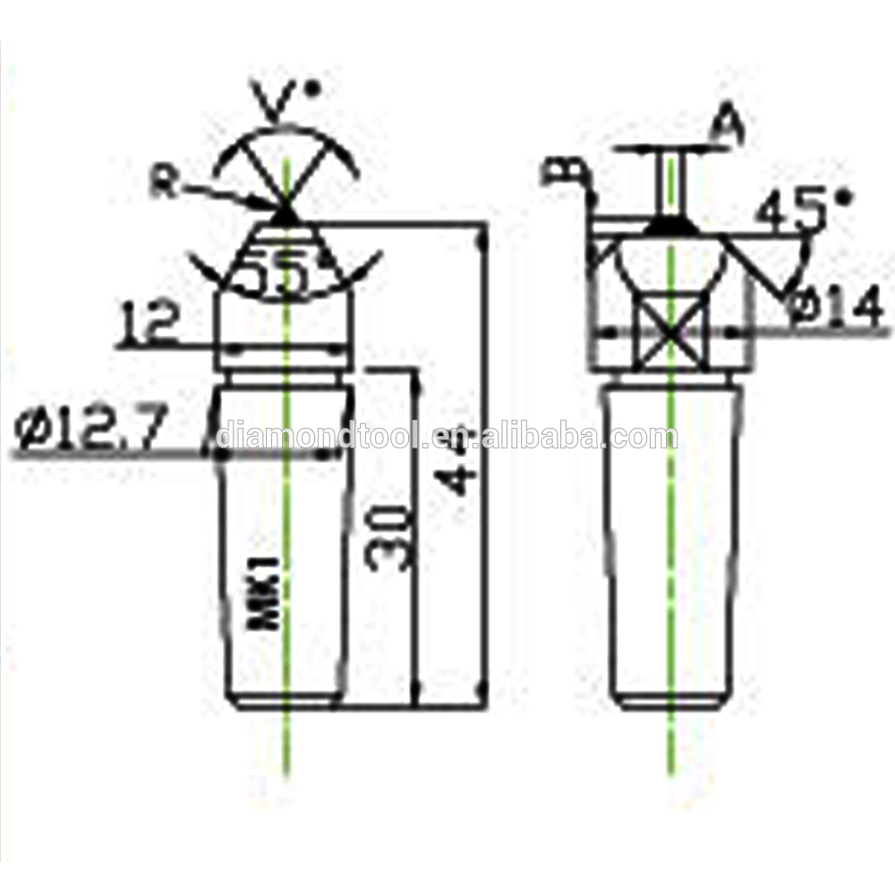 1000x1000 grinding wheel abrasive tool partsdiamond tool diamond dresser