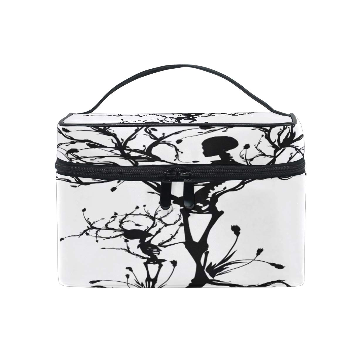 1200x1200 Xling Makeup Bag Halloween Mexican Abstract Skull