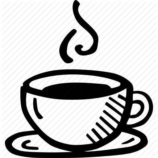 512x512 Drawing Coffee Drink Transparent Png Clipart Free Download
