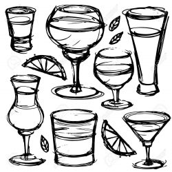 250x250 No Alcohol Drawing Cartoon Clip Art Abuse Beverage Based Pens