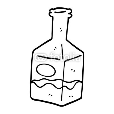 400x400 Line Drawing Cartoon Drink In Decanter Buy Photos Ap Images