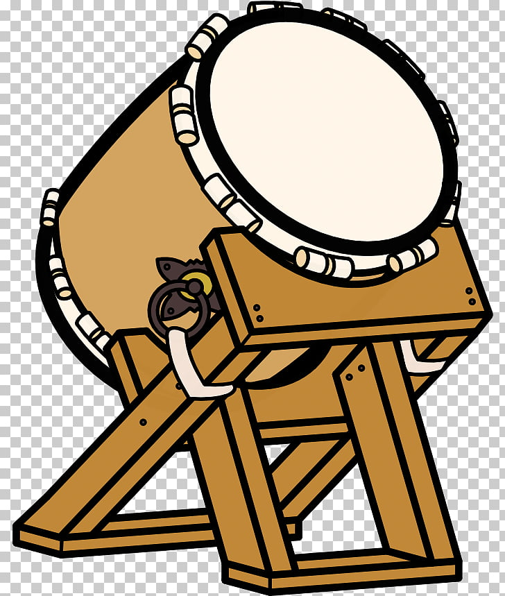 728x859 drum taiko drawing musical instruments drum, brown and white