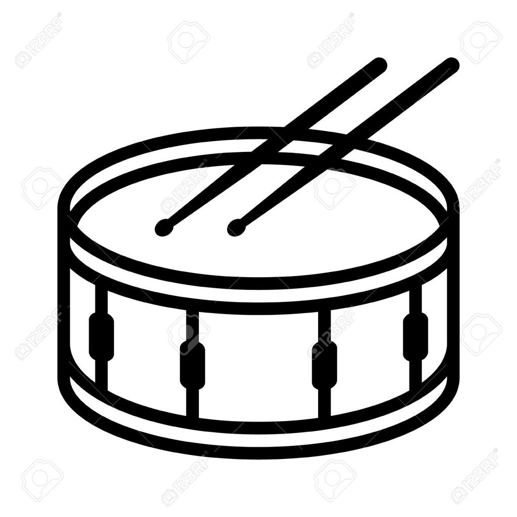 1024x1024 great marching bass drum clip art marching bass drum drawing