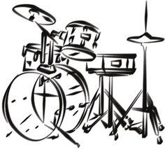 Drum Kit Drawing