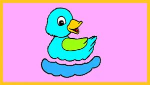 300x169 Nice Picture Of A Duck To Color How Draw And For Kids Drawing Youtube