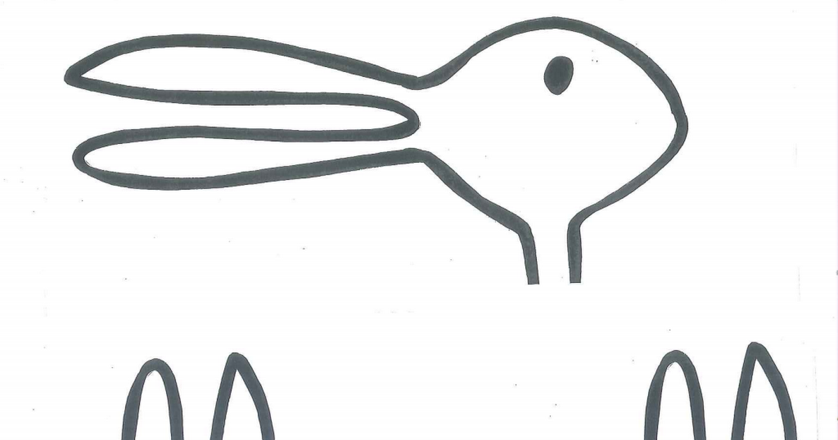 1200x630 duck rabbit heads pdf writing rabbit head, duck or rabbit, rabbit