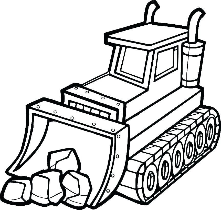 863x819 dump truck coloring pages dump truck coloring