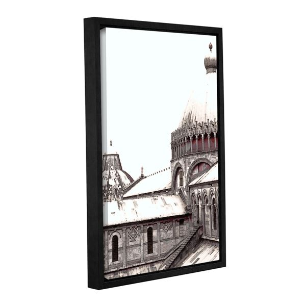 600x600 daybreak on the duomo pisa floater frame artwall
