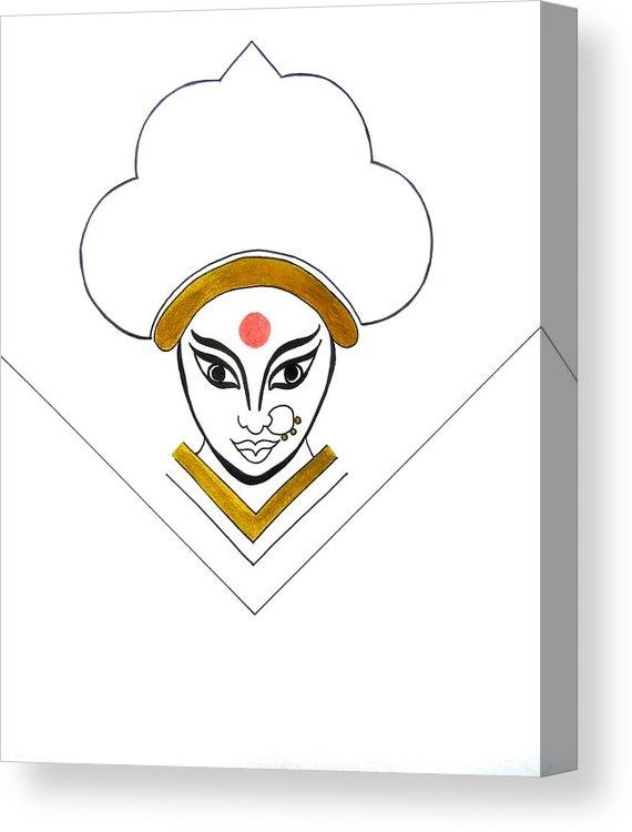 570x750 Durga Maa Canvas Print Canvas Art