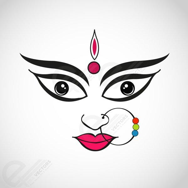 600x600 Free Goddess Durga Files, Vectors Graphics