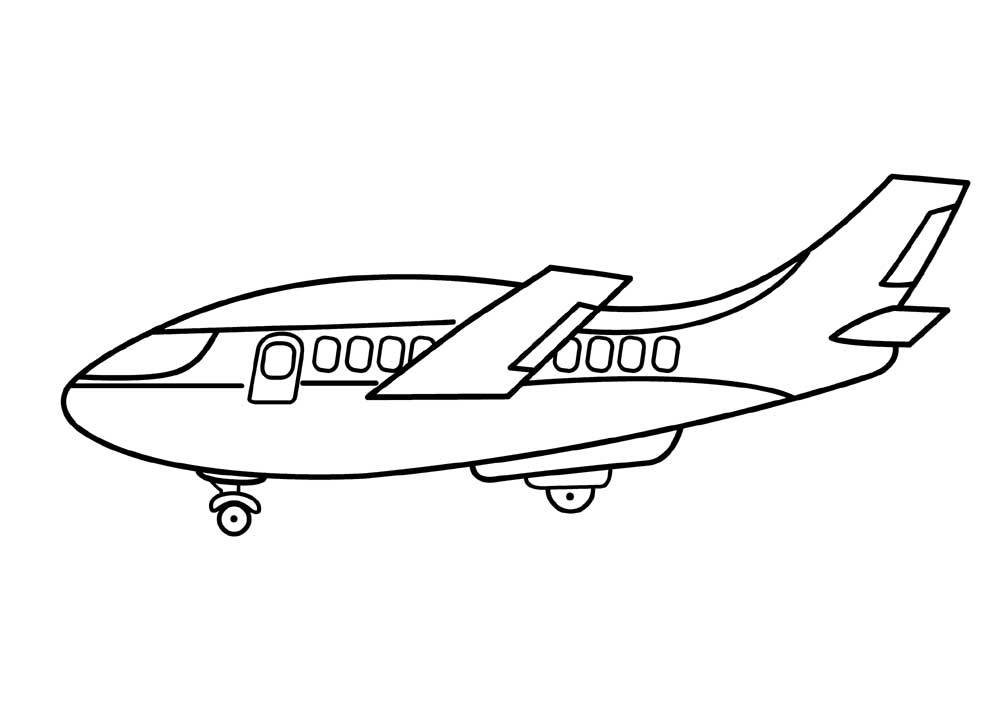 1000x713 Elegant Planes Coloring Pages Dusty