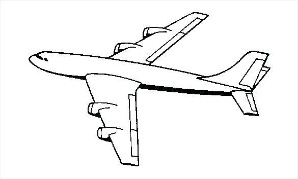 585x353 Plane Coloring