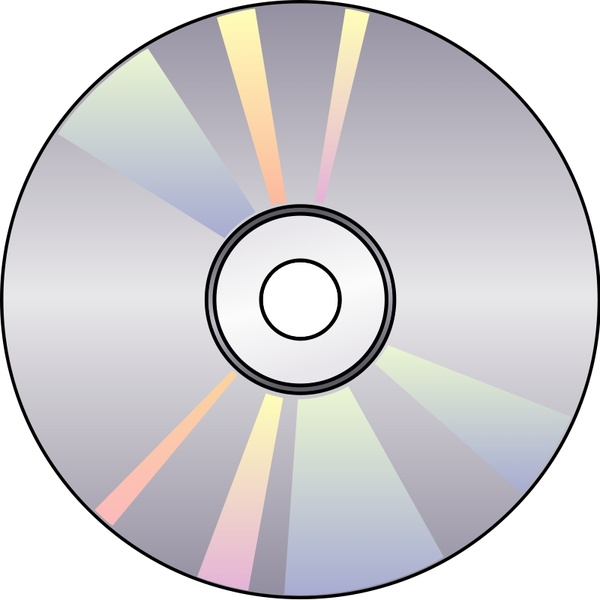 600x600 Compact Disk Free Vector In Open Office Drawing