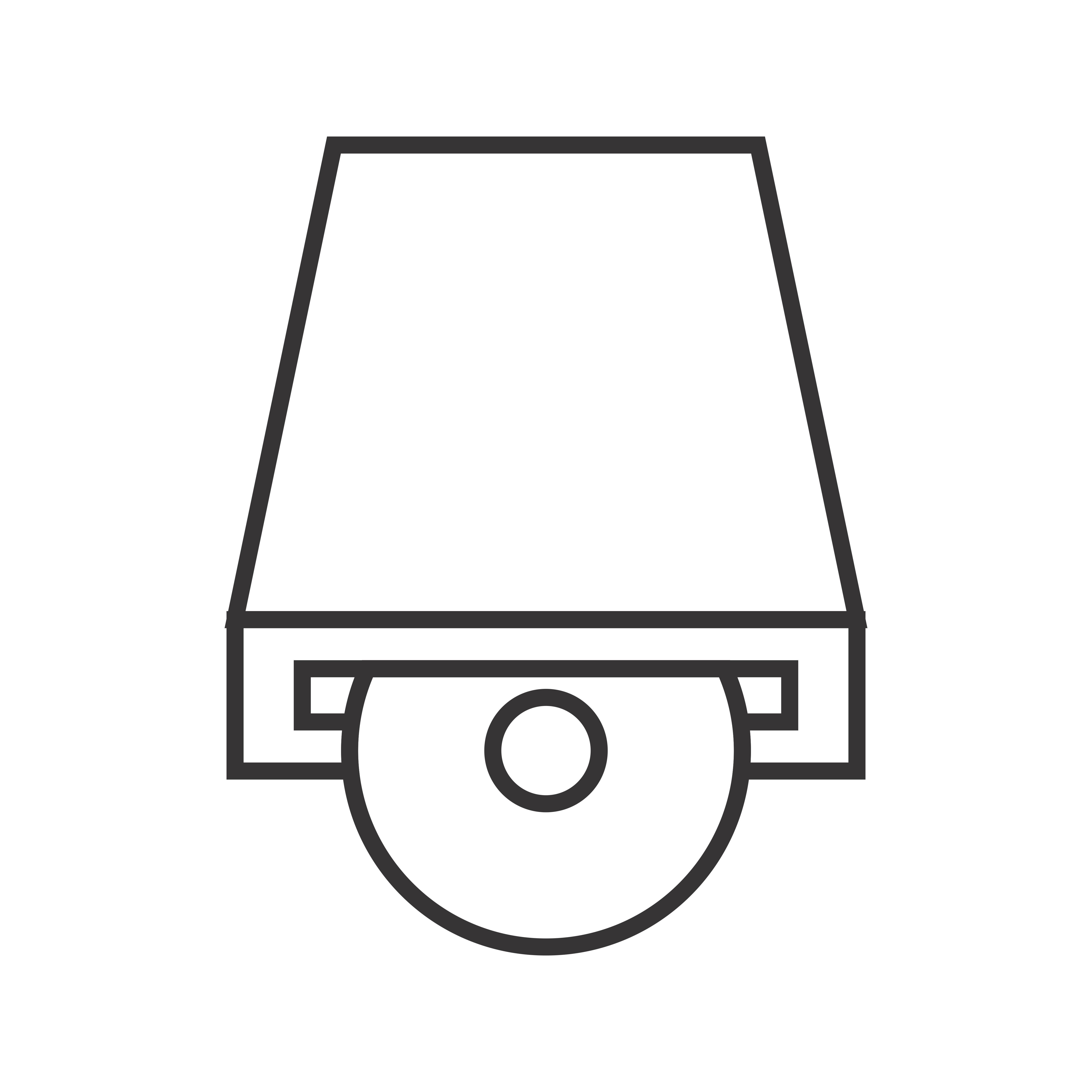 5120x5120 Dvd Player Line Black Icon