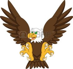 Eagle Cartoon Drawing