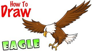 Eagle Drawing Cartoon