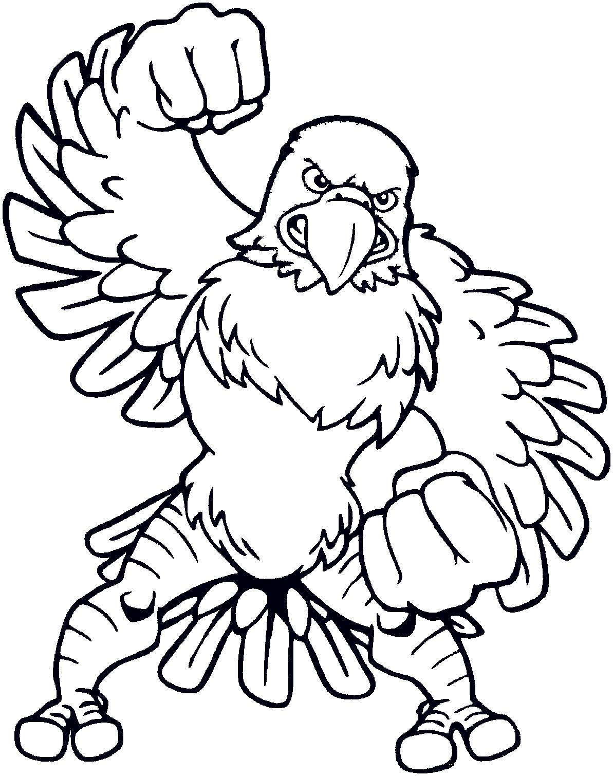 1193x1510 Eagle Coloring Pages Printable
