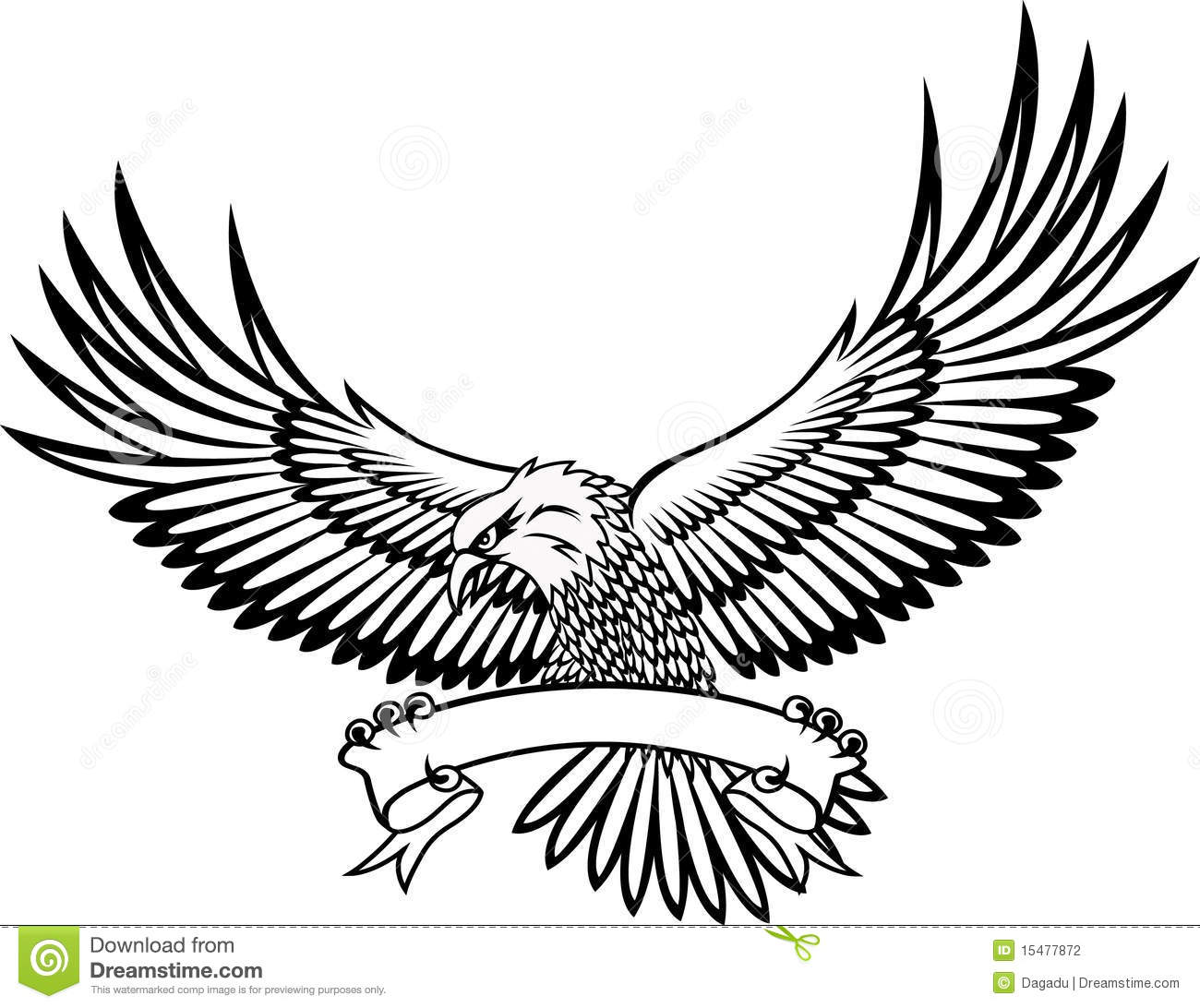 Eagle Drawing Color