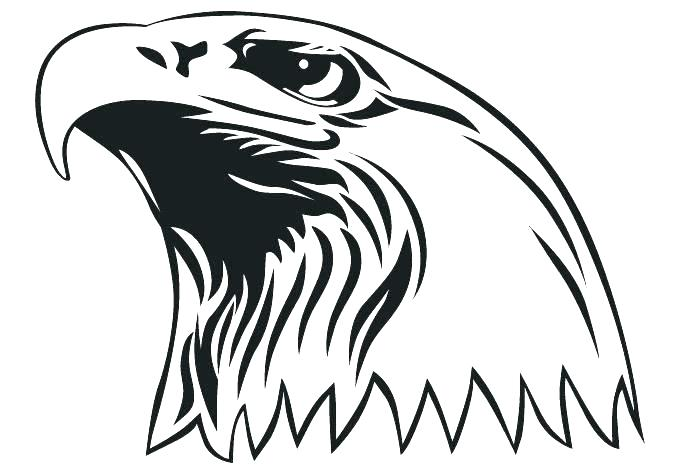 680x472 how to draw a bald eagle for kids printable bald eagle coloring
