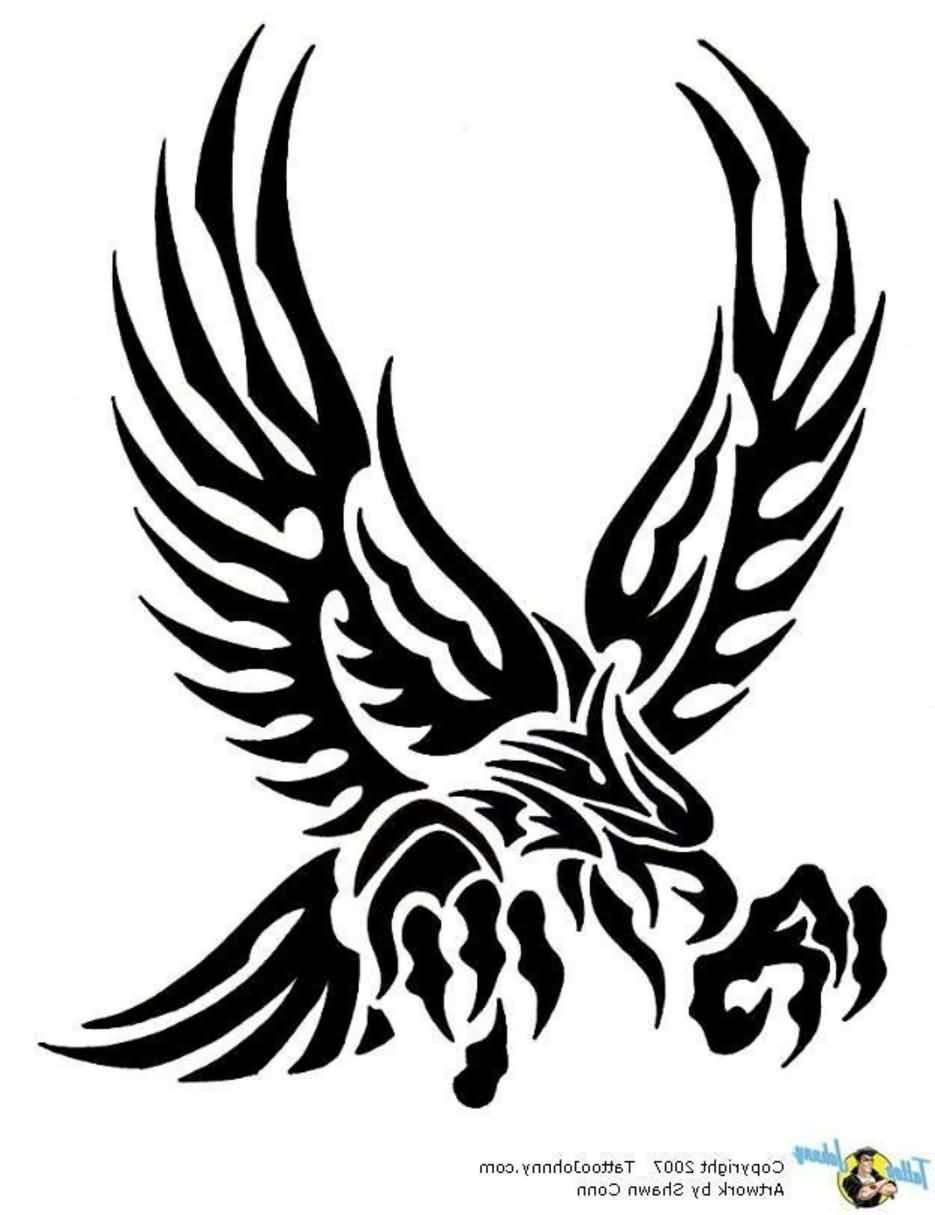 935x1215 Eagle Tattoos With Tribal Art Ideas And Designs