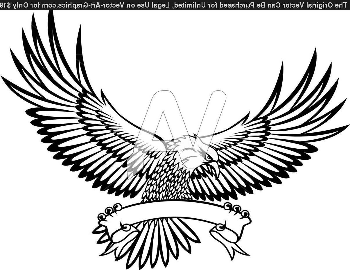 1205x930 Flying Eagle Tattoo Designs Two Soaring Eagles Design Fres