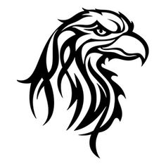 236x236 Best Tribal Eagle Tattoo Images In Tribal Eagle Tattoo
