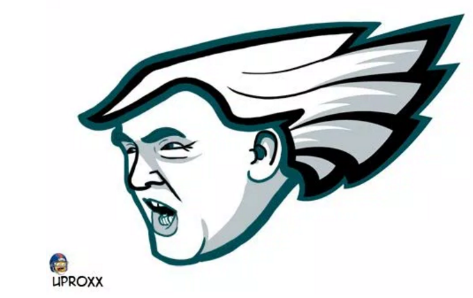 681x429 every nfl logo redesigned with donald trump's likeness nfl