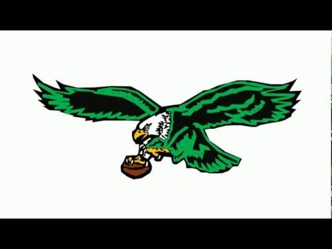 480x360 How To Draw Philadelphia Eagles Logo Retro Old School