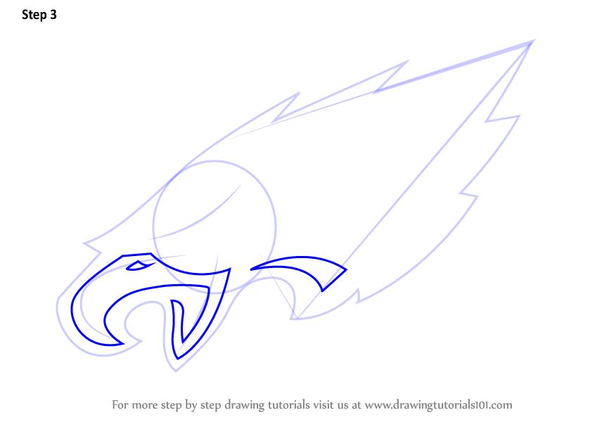 846x600 Learn How To Draw Philadelphia Eagles Logo